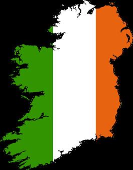 Ireland, Map, Drawn, Vacations, Geography, Europe, Eu