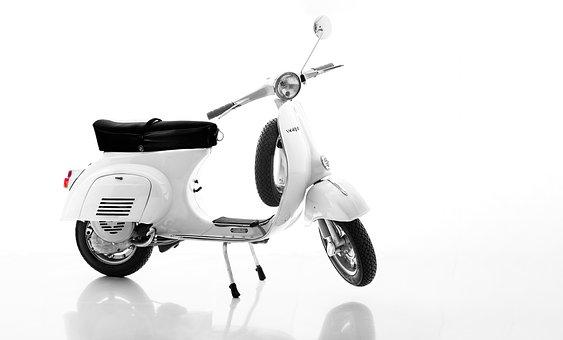 Scooter, Vespa, Vintage, Canon 5d Mark Iii