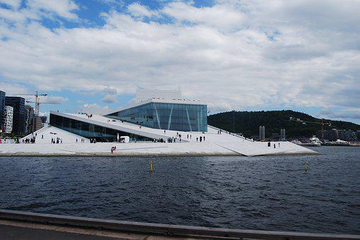 Oslo, Norway, The Opera House, Capital