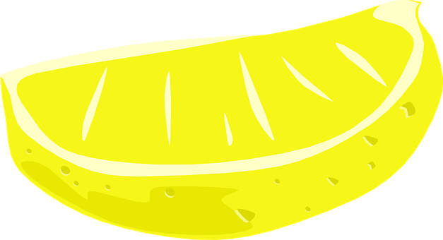 Lemon Wedge, Fruit, Food, Yellow, Wedge, Acid, Citric