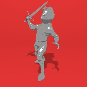 Knight, Middle Ages, 3d, Armor, War, Ancient, Military
