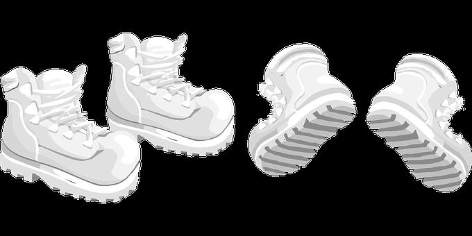 Hiking Boots, Boots, Footwear, Hiking