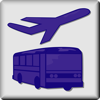 Shuttle, Hotel, Airport, Van, Transportation