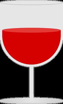 Wine, Glass, Symbol, Icon, Logo