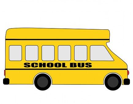 School Bus, Schoolbus, Bus, Yellow, Vehicle