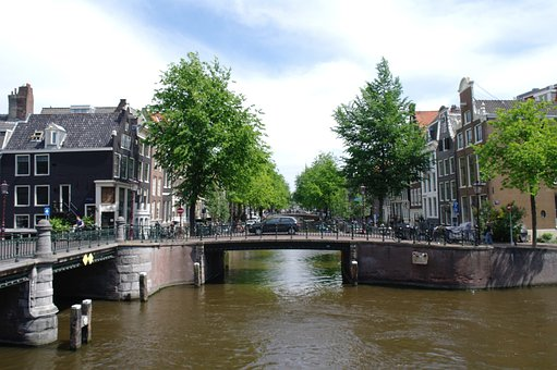 Amsterdam, Canal, Netherlands, Water
