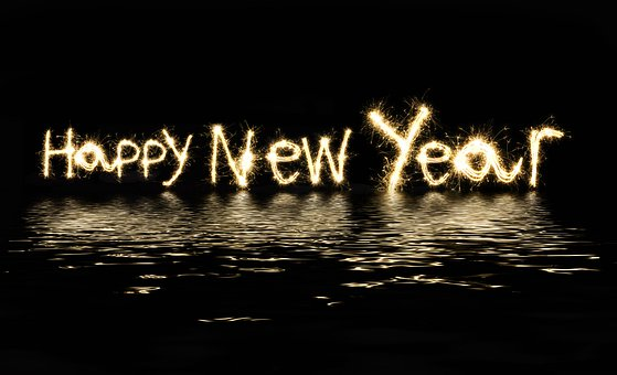 Happy, New, Year, 2020