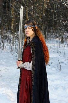 Fantasy, Elf, Sword, Fairy, Fairytale