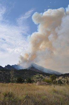 Wildfire, Fire, Burning, Smoke, Heat, Hot, Blaze