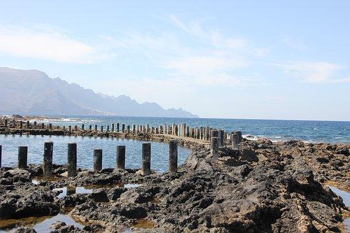 Gran Canaria, Island, Spain, Coast, Beach, Summer