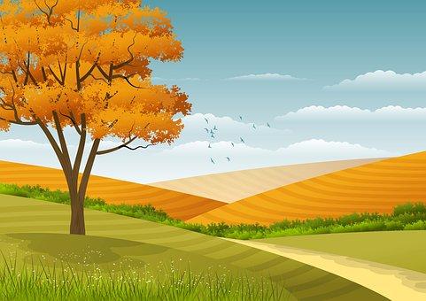 Background, Illustration, Landscape, Nature, Natural
