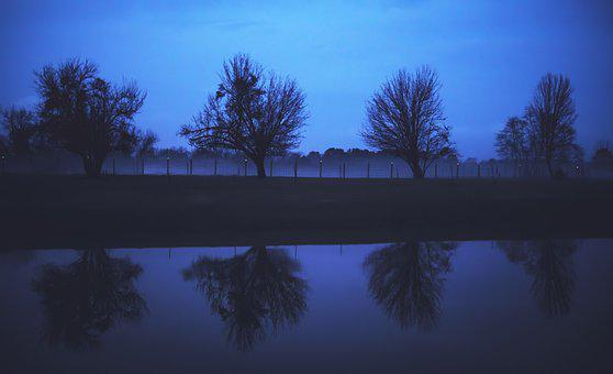 Pond, Countryside, Country, Rural, Reflections, Lake