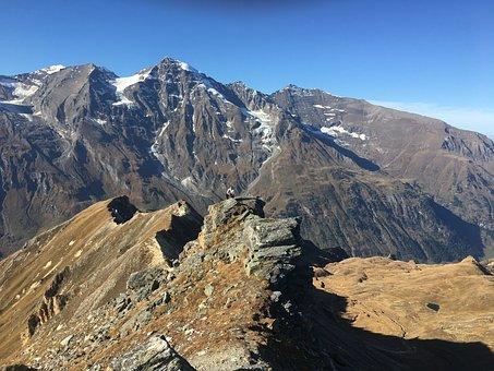 Grossglockner, Mountain, Mountains, Snow, Austria