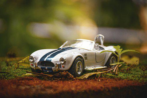 Toy, Antique, Classic, Collectible, Rusty, Car
