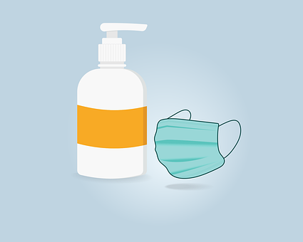 Hand Wash, Mask, Corona, Covid, Precautions