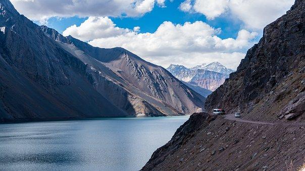 Cordillera, Andes, Los Andes, Chile, Mountain