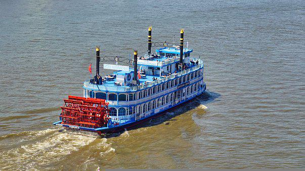Louisiana Star, Paddle Steamer, Harbour Cruise