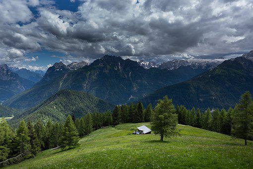 Dolomites, Italy, Nature, Silence, Belluno, Mountains