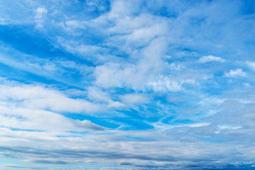 Clouds, Sky, High, Deep, Nature, Heaven