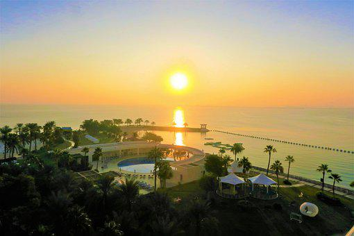 Sunrise, Day Nativity, Beach, Marine