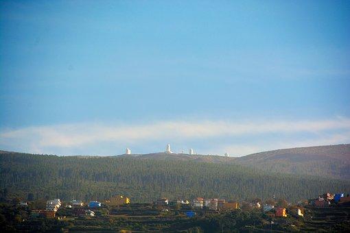 Mountain, Observatory, Mountains, Landscape, Telescope