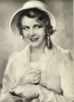 Actress, Woman, Vintage, 1920, 20 Years, Mady Christian