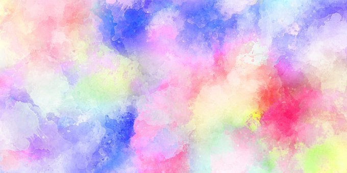 Wallpaper, Watercolor, Pattern, Color, Texture, Design