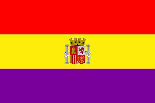 Flag, Spain, Spanish, Second Spanish Republic, State