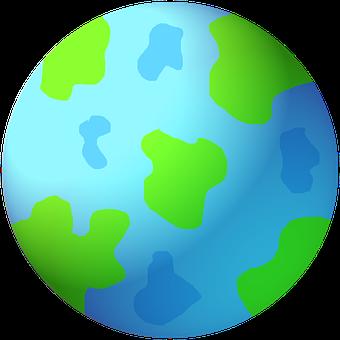 World, Earth, Graphic, Globe, Ball, Blue Planet