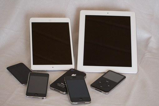 Ipod, Iphone, Ipad, Fruit Basket, Apple, Ipad Mini