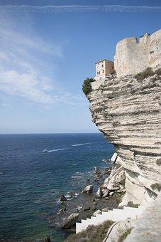 Bonifacio, Corsican, Cliffs, Island Of Beauty