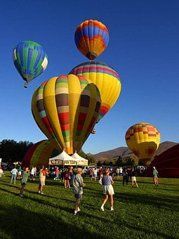 Ballons, Hot Air Balloon, Air Sports, Fly, Colorful