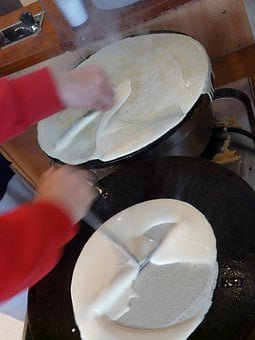 Crepe, Pancake, Cook, Omelette, Food, Eat