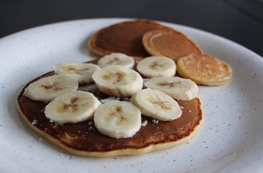 Pancake, Crepes, Eat, Food, Crepe, Banana