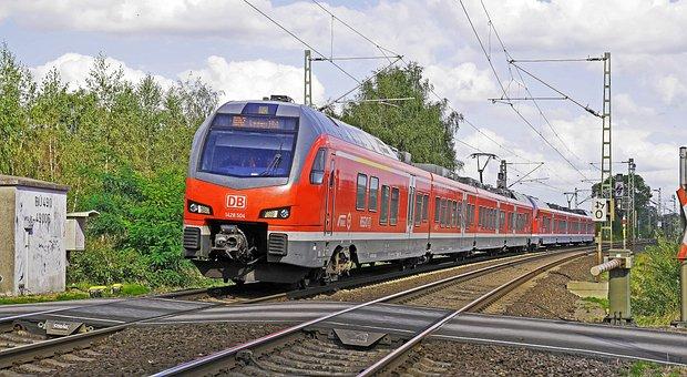Regional Train, Deutsche Bahn, Munster - Eat