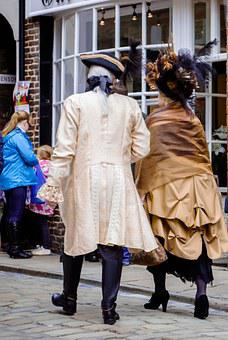 Whitby Goth Weekend, Festival, Gothic, Casal