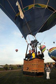 Sky, Clouds, Ballon, Hot Air Balloon, Colorful, Nature