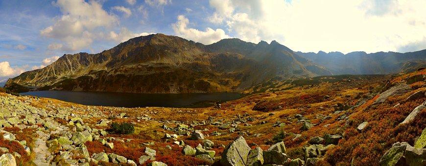 Tatry, Mountains, Autumn, Landscape, The High Tatras