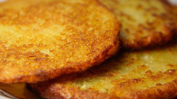 Potato Pancakes, Latkes, Food, Potato, Pancake, Fried