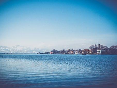 Lake Constance, Lindau, Lighthouse, Lake, Bavaria