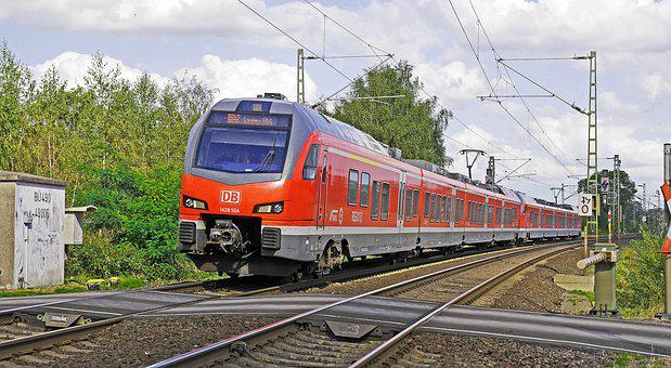 Regional Train, Deutsche Bahn, Munster - Eat