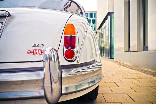 Auto, Jaguar, Oldtimer, Automotive, Vehicle, Classic