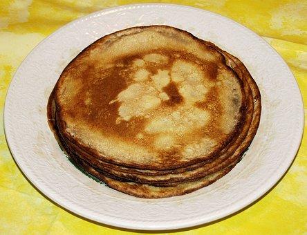 Pancake, Omelette, Eat, Fry Up