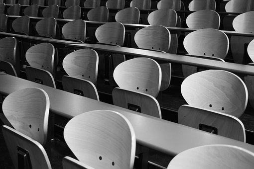 Chairs, Sit, Architecture, Amphitheater, School