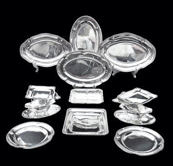 Sterling Silver Flatware, Sterling Silver Tableware