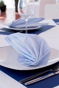 Napkin, Non Woven, Restaurants, Table, Table Decoration