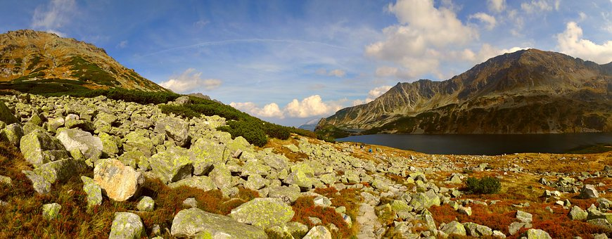 Tatry, Mountains, The High Tatras, Landscape, Poland