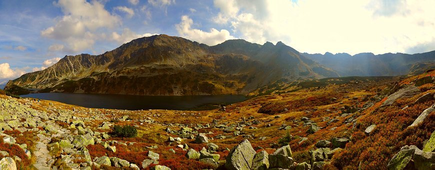Tatry, Mountains, Autumn, Landscape, The High Tatras