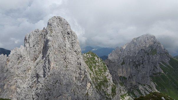 Gimpel, Tannheim, Alpine, Mountains, Austria, Tyrol