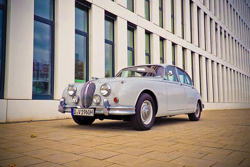 Auto, Jaguar, Oldtimer, Automotive, Vehicle, Classic